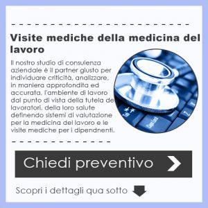 Visite mediche della medicina del lavoro